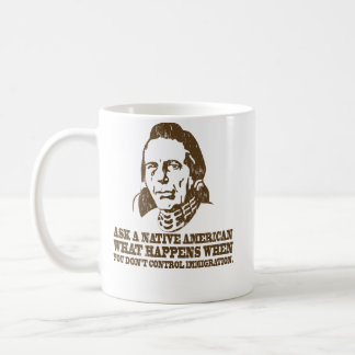 Native American Immigration Coffee Mugs