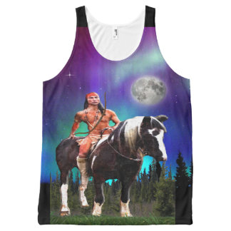 Native American Indian All-Over-Print Tank Top