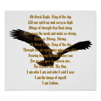 Native American Indian Anthem Print