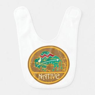 Native American Indian Buffalo Bib