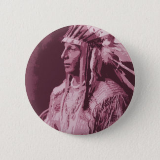 Native American Indian Button
