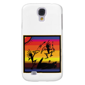 Native American Indian Cave Art Galaxy S4 Cover
