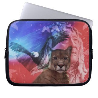 Native American Indian Chief Laptop Sleeve