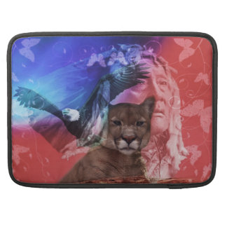 Native American Indian Chief MacBook Pro Sleeve