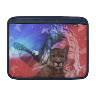 Native American Indian Chief MacBook Sleeve