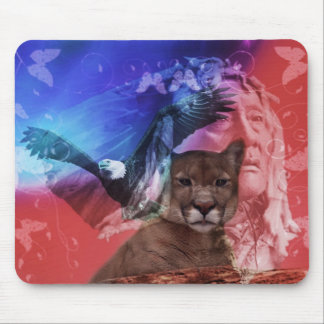 Native American Indian Chief Mousepads