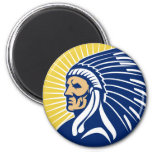 Native American Indian chief Refrigerator Magnets