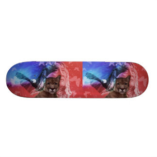 Native American Indian Chief Skateboard