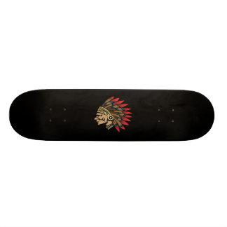Native American Indian Chief Skateboard Deck