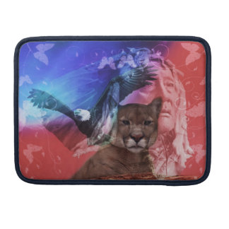 Native American Indian Chief Sleeve For MacBook Pro