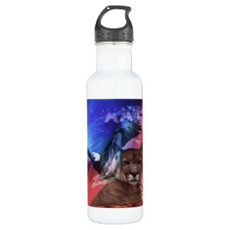Native American Indian Chief Stainless Steel Water Bottle