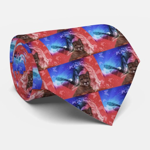 Native American Indian Chief Tie