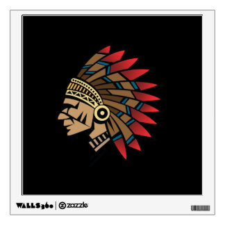 Native American Indian Chief Wall Decals