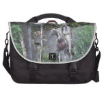 Native American Indian Chief with Horse Laptop Bag