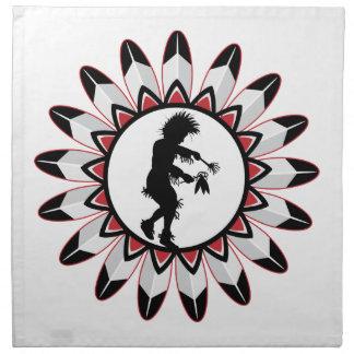 Native American Indian Dance Cloth Napkin