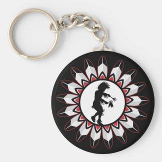 Native American Indian Dance Keychain