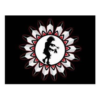 Native American Indian Dance Postcard