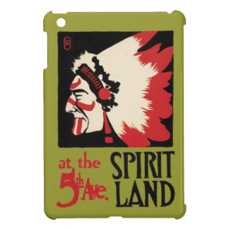 Native American Indian Design Tribal Spirit Land Cover For The iPad Mini