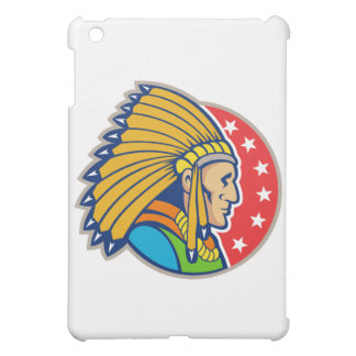 Native American Indian Headgear Side Case For The iPad Mini