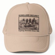 Native American Indian Homeland Security hat