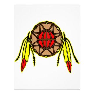 Native American Indian Letterhead