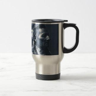 Native American Indian Pio Pio-Maksmaks 15 Oz Stainless Steel Travel Mug