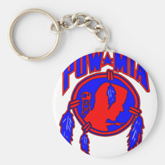 Native American Indian POW-MIA Keychain