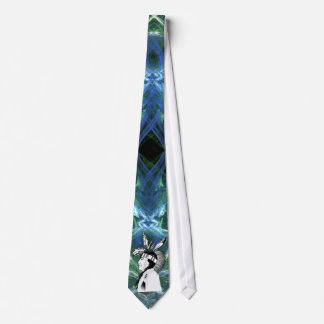 Native American Indian Profile Neck Tie