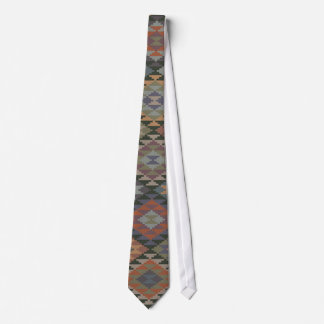 Native American Indian Quilt Silky Mens' Neck Tie