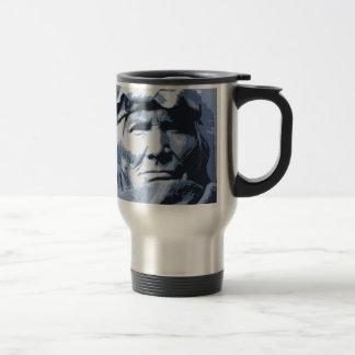 Native American Indian Si Wa Wata Wa 15 Oz Stainless Steel Travel Mug