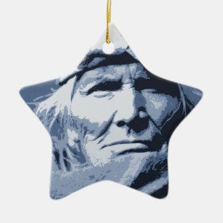 Native American Indian Si Wa Wata Wa Ceramic Ornament