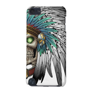 Native American Indian Tribal Gothic Skull iPod Touch (5th Generation) Covers