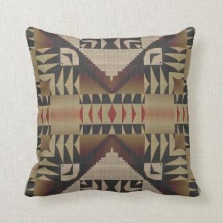 Native American Indian Tribal Mosaic Pattern