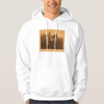 Native American Indian Vintage Portrait Hoodie