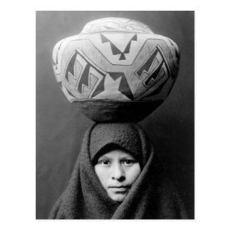 Native American Indian Vintage Portrait Post Cards