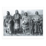 Native American Indian Vintage Portrait Postcard