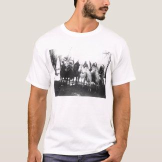 Native American Indian Vintage Portrait T-Shirt