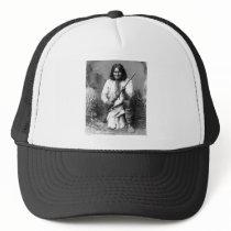 Native American Indian Vintage Portrait Trucker Hat