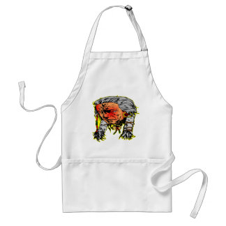 Native American Indian Warrior Adult Apron
