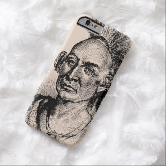 Native American Indian Warrior Barely There iPhone 6 Case