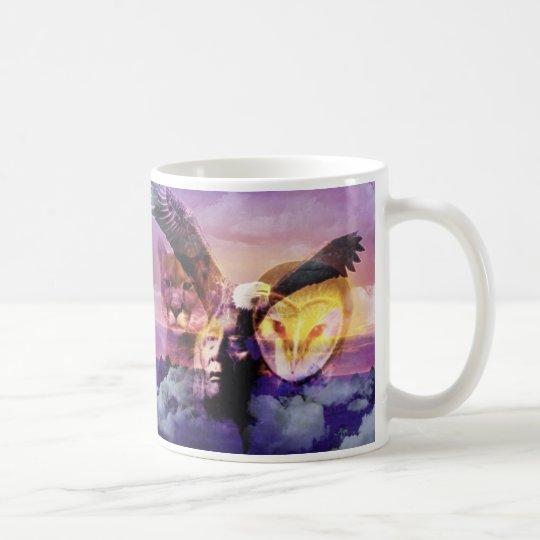 Native American Indian Warrior Coffee Mug