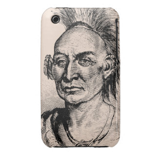 Native American Indian Warrior iPhone 3 Case