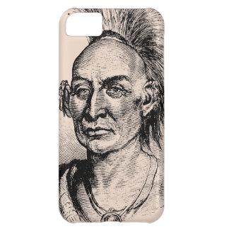 Native American Indian Warrior iPhone 5 C Case