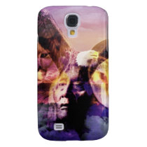 Native American Indian Warrior Samsung S4 Case