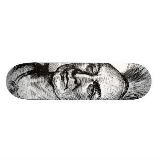 Native American Indian Warrior Skateboard