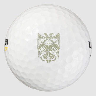 Native American Inscribed Golf Ball Pack Of Golf Balls