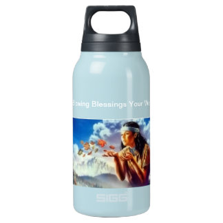 Native American Insulated Water Bottle