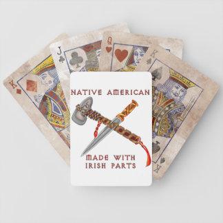 Native American/Irish Bicycle Playing Cards