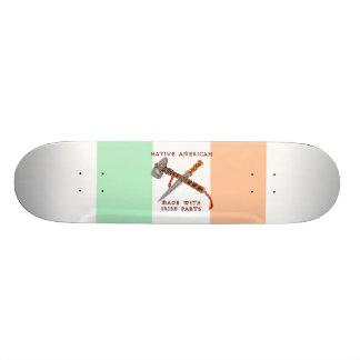 Native American/Irish Skateboard
