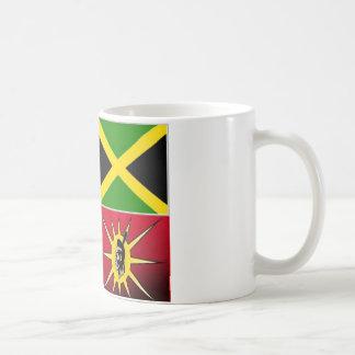 Native american-Jamaican Coffee Mug